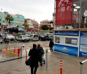 Haşim İşcan Mekanik Katlı Otoparkı, Antalya B.Ş.B.
