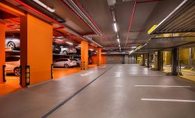 1 parking is obligatory for each apartment!