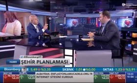 Müştak Ağrikli was a guest of Bloomberg HT News