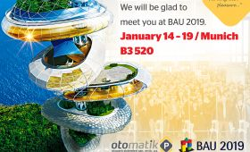 Parkolay 14-19 Ocak 2019'da Bau 2019 Münih'e katılacak…