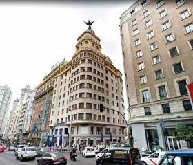 Calle Gran Via, 68 Madrid, İspanya, Parkule 100, Tam Otomatik Otopark Sistemi