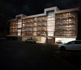 Arçelik Headquarters, Sütlüce, Parkule 100, Fully Automated Car Parking System