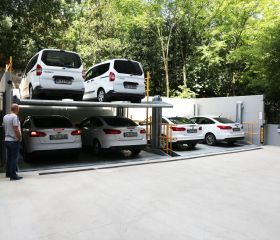 Yoghurtchu Park Street Nr:72 Fuat Bey Apartment, Kadiköy, Istanbul, Parkist 222 Mechanical Parking System with pit