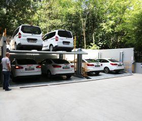 Yoghurtchu Park Street Nr:72 Fuat Bey Apartment, Kadiköy, Istanbul, Parkist 222 Mechanical Parking System with pit