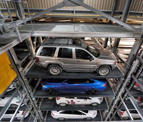 Alsancak Fully Automated Car Parking, Konak