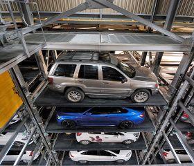 Alsancak Fully Automated Car Parking, Konak, Parkule 100